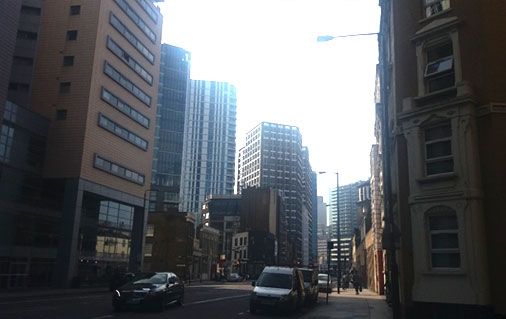 Aldgate development